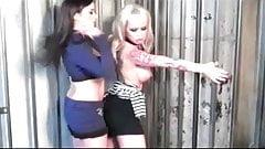 Taylor Vixen Lesbian Jail