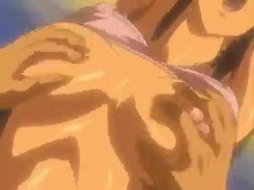 Hentai babe gangbang