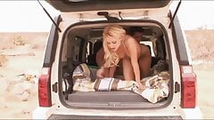 HOT & angry blonde GF gets back at her man by fucking a stra