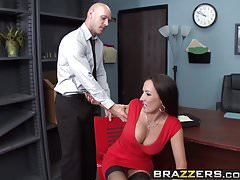 Brazzers - Big Tits at Work -  Calling In A Dick Day scene s