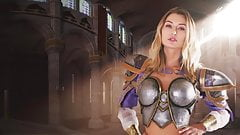 Horny Jaina gets Fucked in a Video Game VR Parody's Thumb
