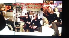 Jennifer Aniston Friends Pantyhose Legs Cum Tribute