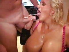 Big tits bukkake