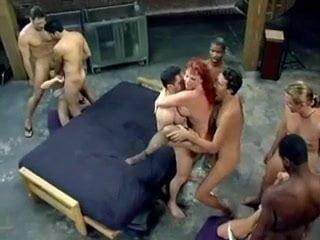 Kylie ireland interracial gang bang