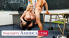 Naughty America - Rachael Cavalli fucks student