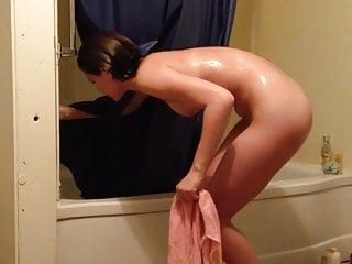 Hidden Cam Home Shower Fit Teen