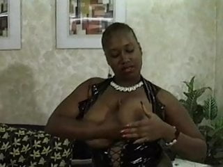 Big Black Boobs And A Juicy Hairy Cunt