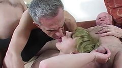 young girl fucked by a group of old men's Thumb