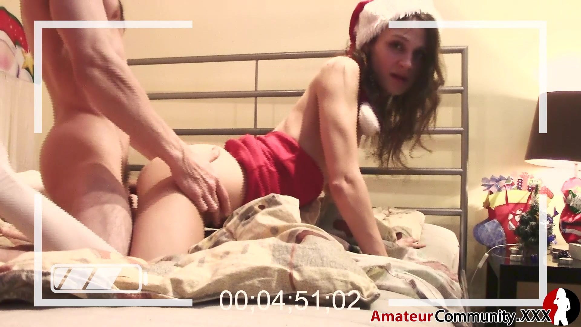 I fuck my Ex on Christmas … haha amateurcommunityXXX