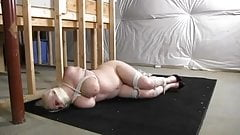 vicious Full figured girl tied up