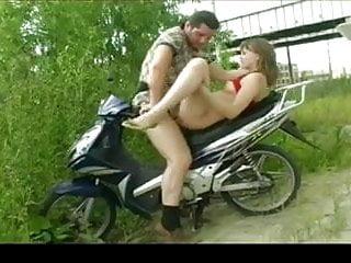 Teen Fucked On My Bike by TROC