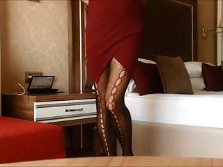 Arabic Secretary Spy in Hotel