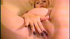 Pregnant Big Tit Mom Finger Pussy