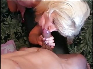 Blonde Gets Pounded By Young Stud