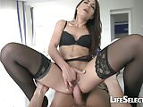 Nomi Melon - Brunette Fucked in the ASS