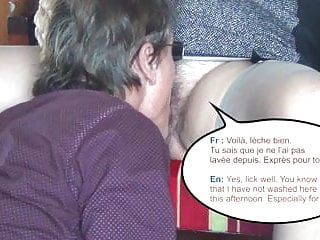 Madam asks me to LICK her PUSSY who has just GOT FUCKED