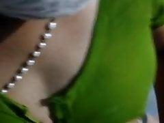 Tamil anuty show her body