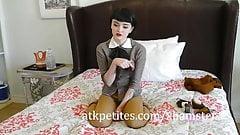 Petite Matilda Bow Masturbates While You Watch