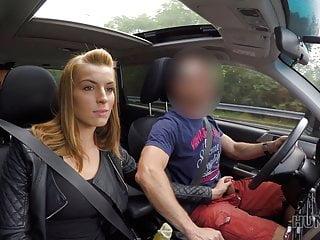 HUNT4K. Cuckold allows blonde girl touch strangers dick for
