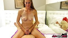 SofieMarieXXX - MILF Sofie Marie Teases Big Cock By Handjob