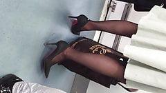 candid black pantyhose2