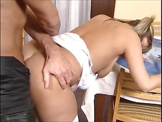 German beauty ass analed & cum on face