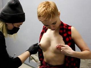 Nipple piercing girls