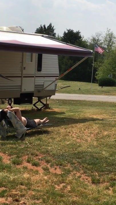 Petite blondie licked and nailed outdoors 95%