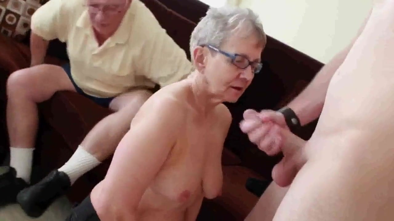 Granny  Husband Invite A Young Stud To Fuck Her Porn 4E Pl-3065
