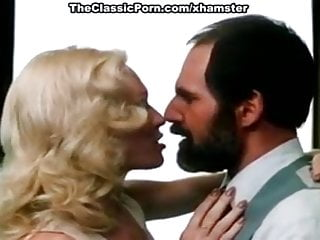Jessie St James, Aaron Stuart in sexy 80's porn blondie