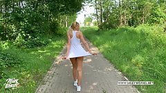 Hot German Babe picked up and fucked up the Ass !!