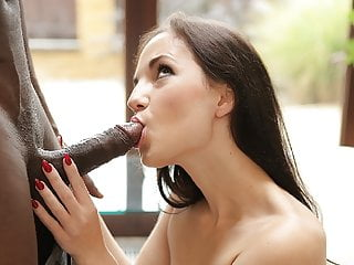 BLACK4K. Adorable Kristy Black gets a huge cock in her...
