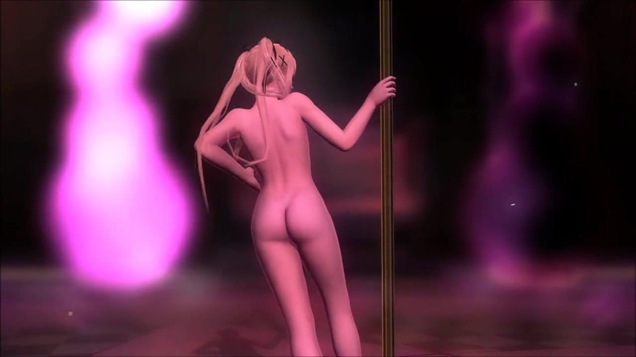 nude pole dancer animated