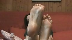 European Foot Mistress