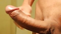 Asian Big Cock Masturbation And Massive Cumshot