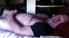 sexy husky daddy cums