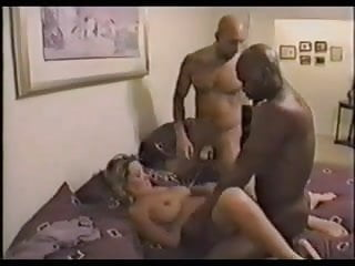 Interracial Gangbang Mature Wife Getting Fucked Hard N Deep