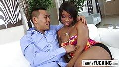 Ebony hottie Imani Rose is alw