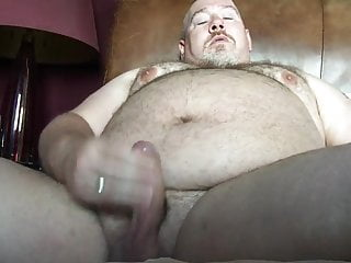 really quick wank and cum