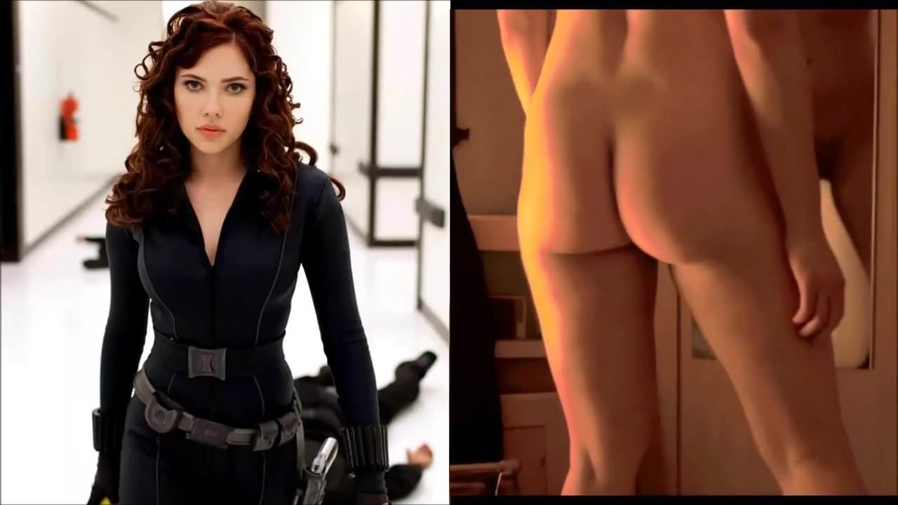 naked black widow