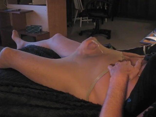 Girl shows ass on webcam