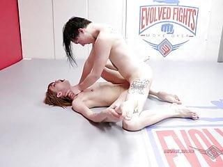 Alexa Nova nude wrestling turns to anal sex