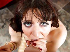 FirstClassPOV- Samantha Bentley sucking a monster cock