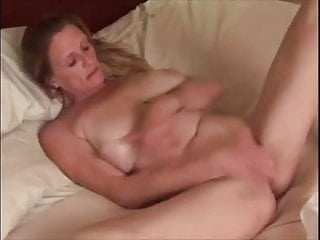 Masturbating for her man