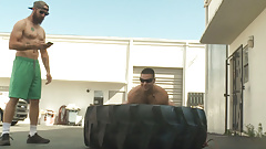Training And Gay Ass Fucking