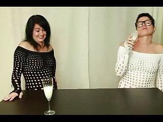 Two anal sluts gangfucked