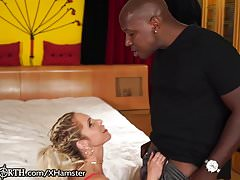 Busty Anal MILF Nadia North vs. MANDINGO's Legendary Dick