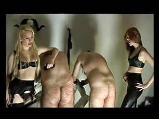 Slave caning