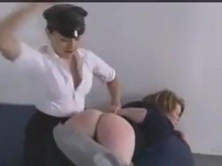 prison Women spanked in