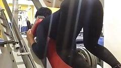 Big Phat Juicy Caucasian Bootie At The Gym Kavkaz Slut